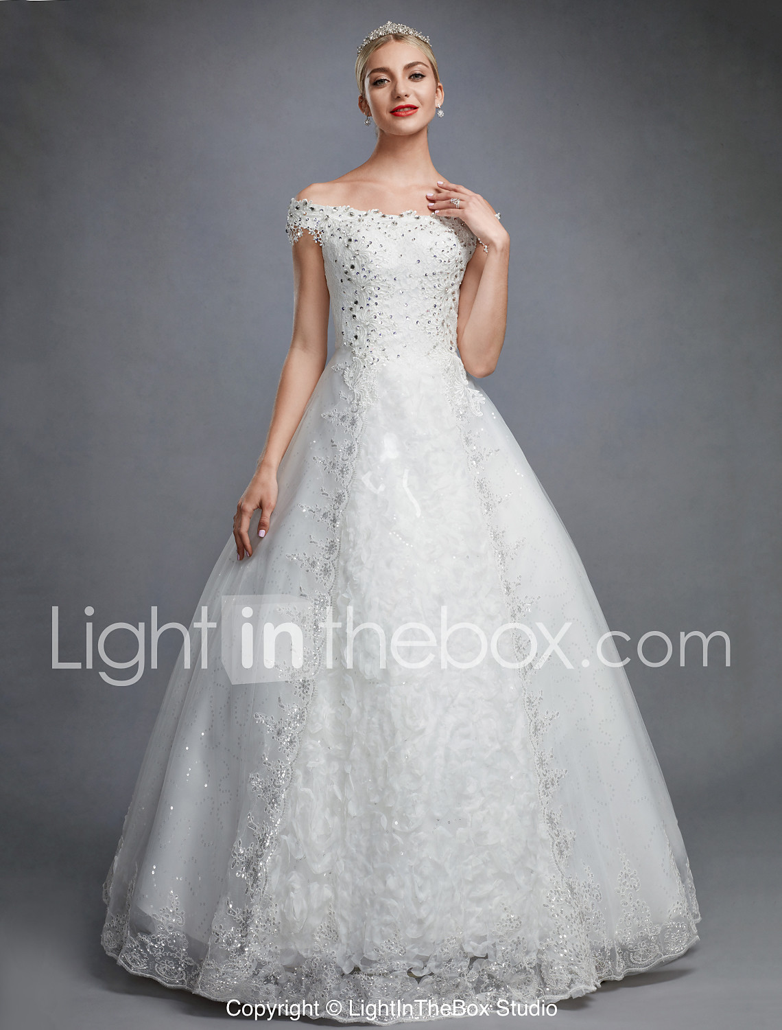 Erfahrung Lightinthebox Ball Gown Off Shoulder Floor Length Lace Over Tulle Made To