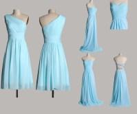 Tiffany Blue Bridesmaid Dresses Wedding | Cocktail Dresses ...