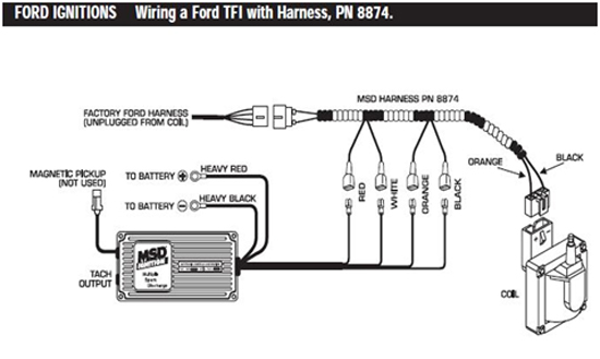 MSD 6AL Ignition Module w/ Rev Control - Installation Instructions