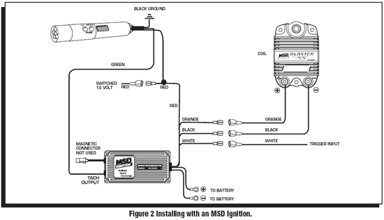 momentary switch will provide a on off negative output