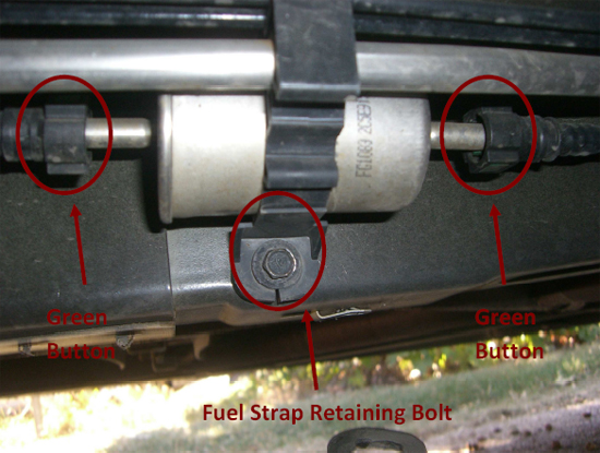 Ford Motorcraft Mustang OEM Fuel Filter (\u002705-\u002710) - Installation