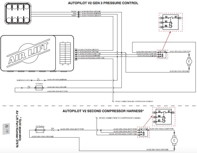 How to Install Air Lift Performance V2 Autopilot Digital Air