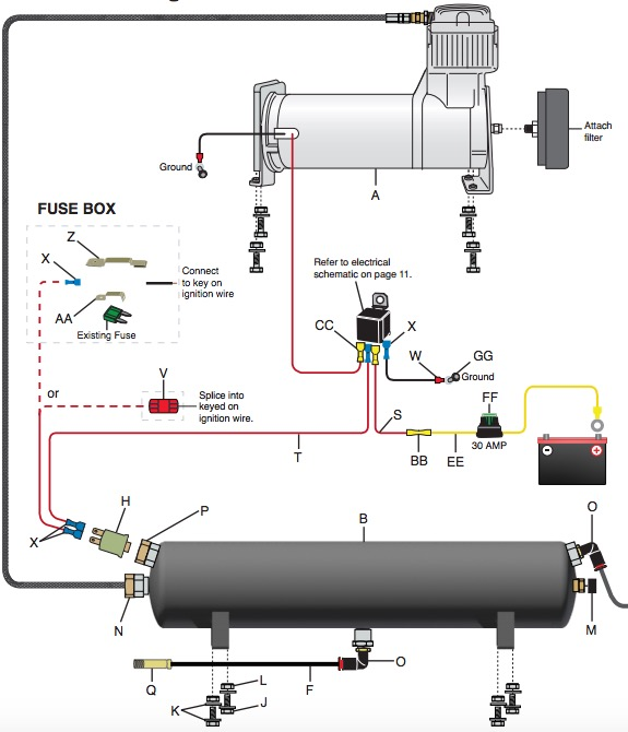7400 Air Tank Schematic Wiring Diagrams
