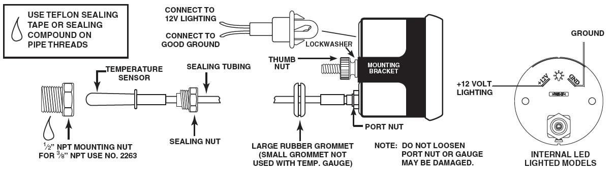 Auto Fuel Gauge Wiring Diagram Wiring Diagram