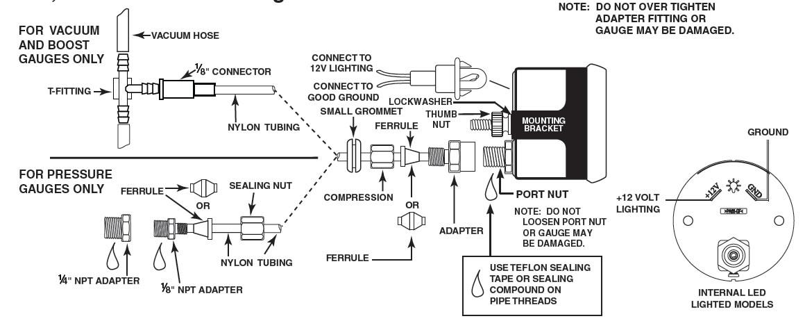 Pro Comp Light Wiring Diagram Wiring Diagram
