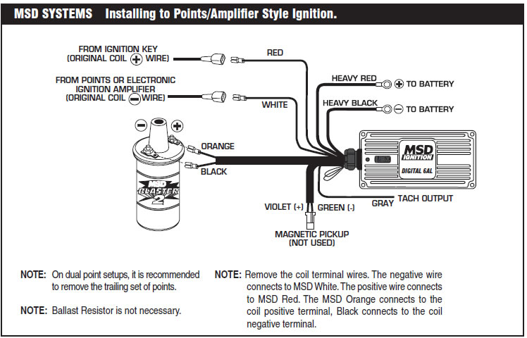Msd 6a Wiring Ford - Wiring Diagrams