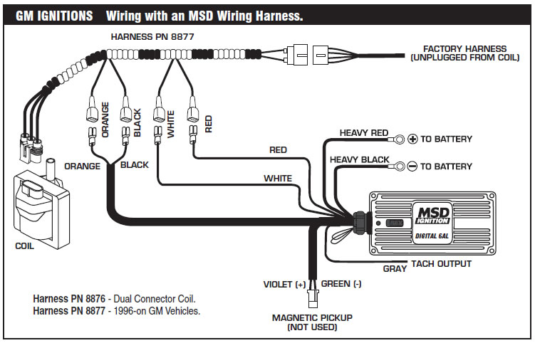Msd Wiring Harness - Wiring Diagrams