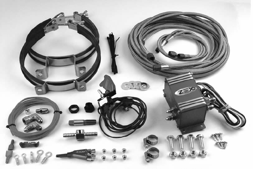 How to Install a Zex Wet Injected Nitrous System on Your 1986-2004