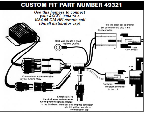 Accel Distributor Wiring Diagram Electronic Schematics collections