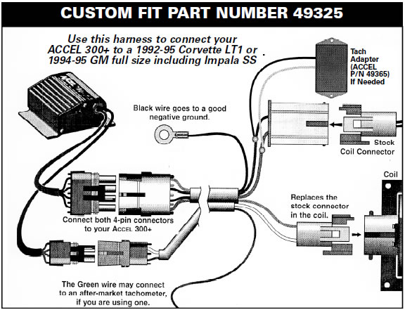 How to Install a Accel Performance Tach Adapter on your 1984-1995