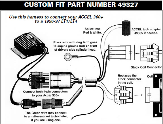 How to Install a Accel Performance Tach Adapter in your 1984-1995