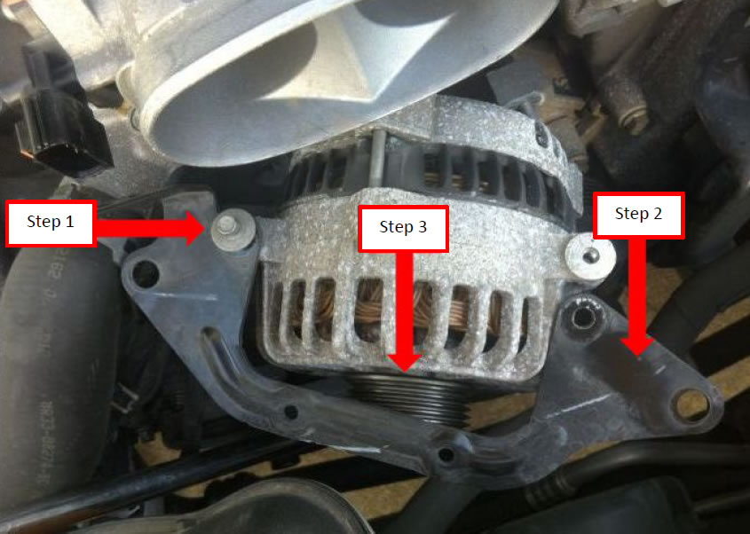 How to Install a PA Performance Alternator on Your 2005-2008 GT