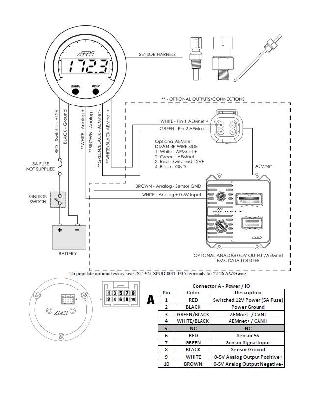 Sierra Oil Pressure Gauge Wiring Diagram - Wiring Diagrams Clicks