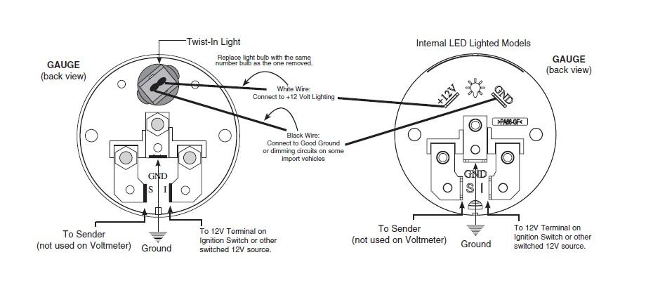 Temp Gauge Wiring Diagram Wiring Diagram
