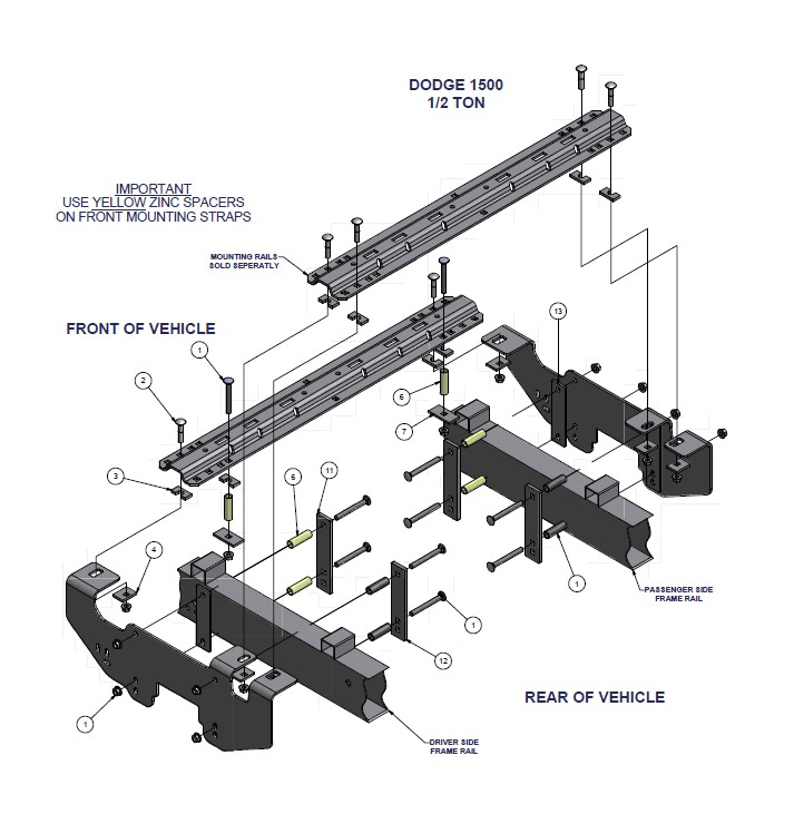 install trailer hitch ram 1500