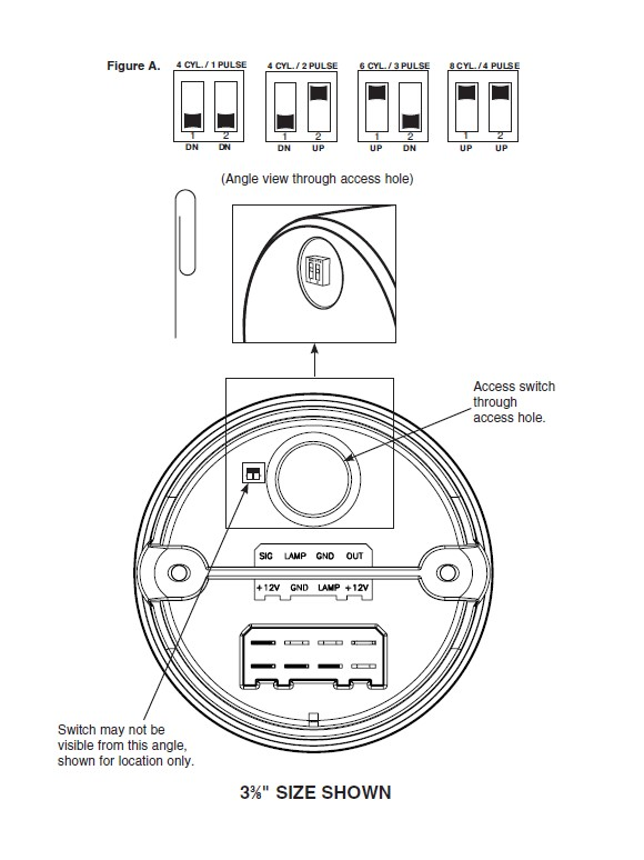 How to Install Mopar 3-3/8 in In-Dash Tachometer - Black on your