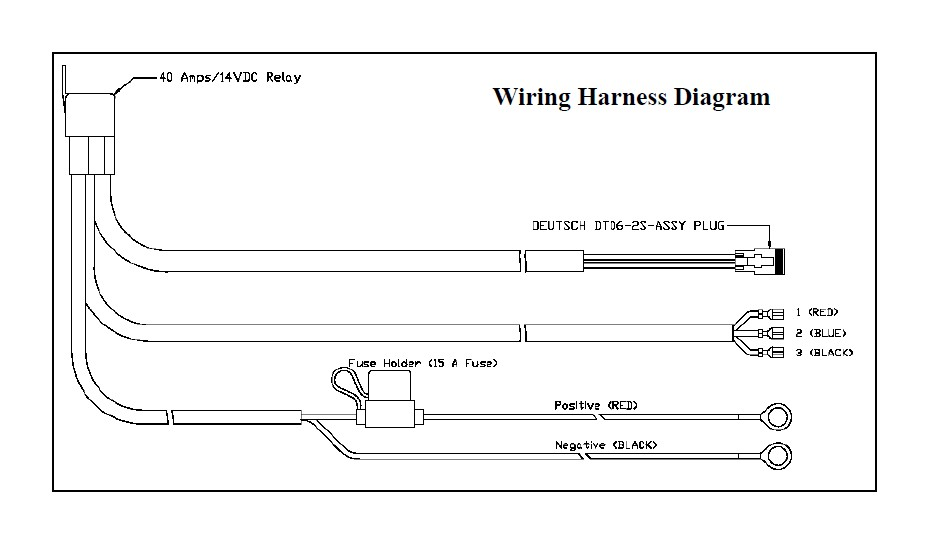 Led Light Bar Wiring Harness Install Wiring Diagram