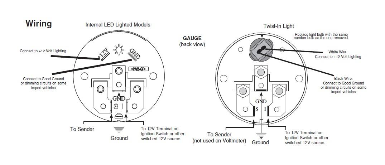 oil temp gauge wiring diagram