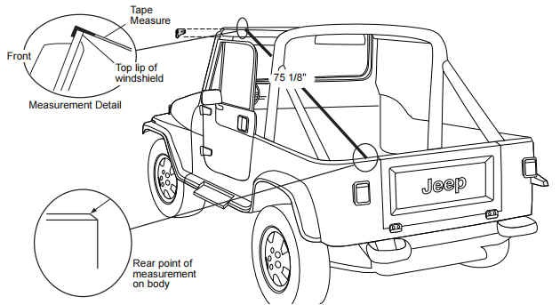 installing a new jeep soft top