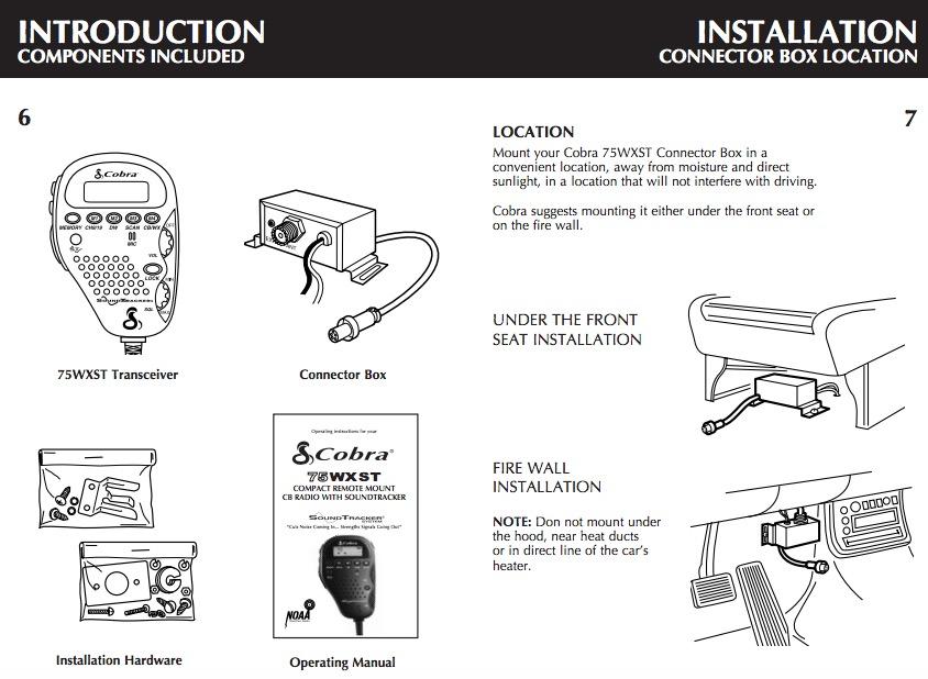 How to Install a Cobra CB Radio on your 87-18 Jeep Wrangler YJ, TJ