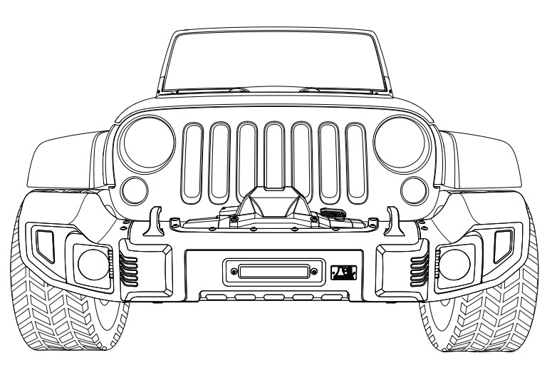 install jeep front bumper