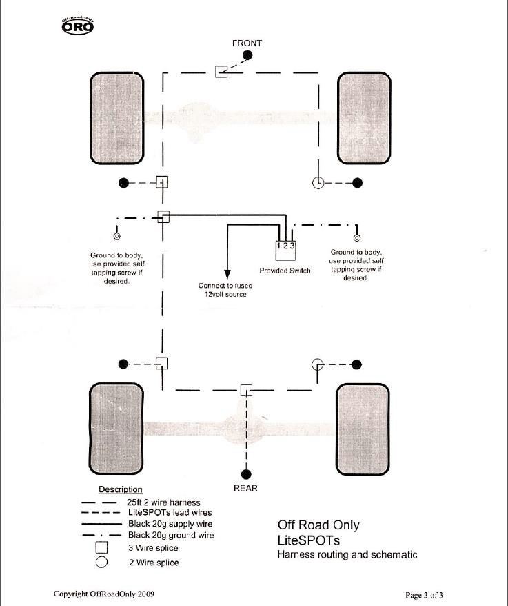 Jeep Lights Wiring Diagram Wiring Diagram