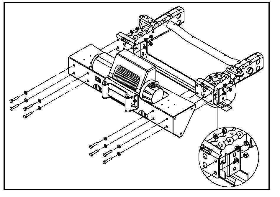 install jeep bumper