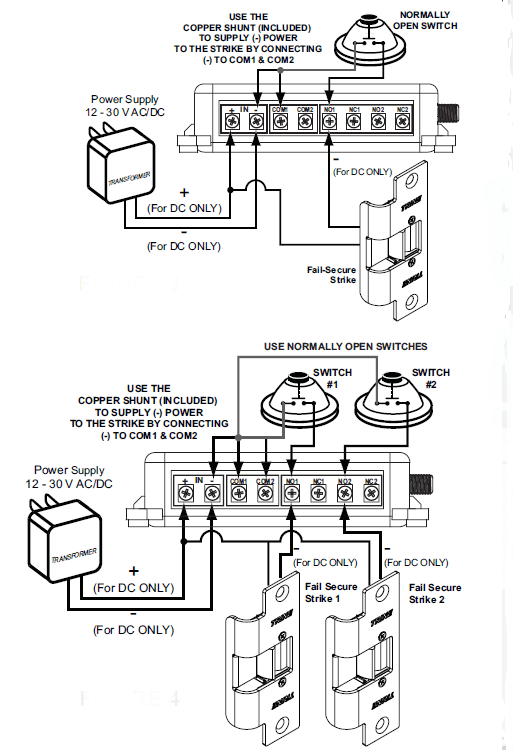 wiring diagram to maglock iei keypad