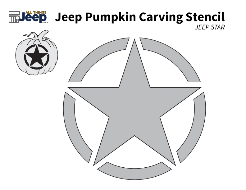 All Things Jeep - Jeep Pumpkin Carving Templates