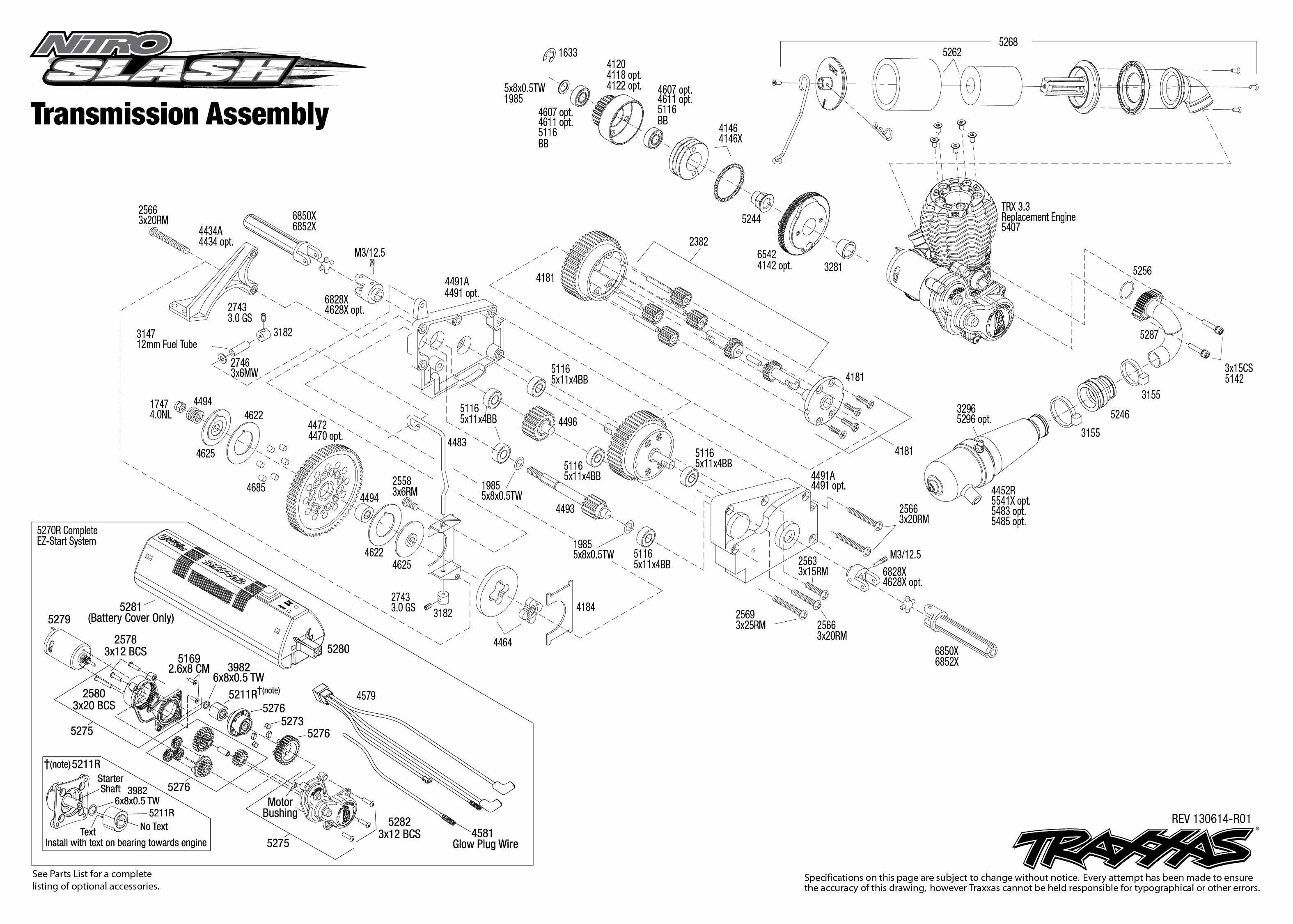 trx 3.3 engine assembly diagram