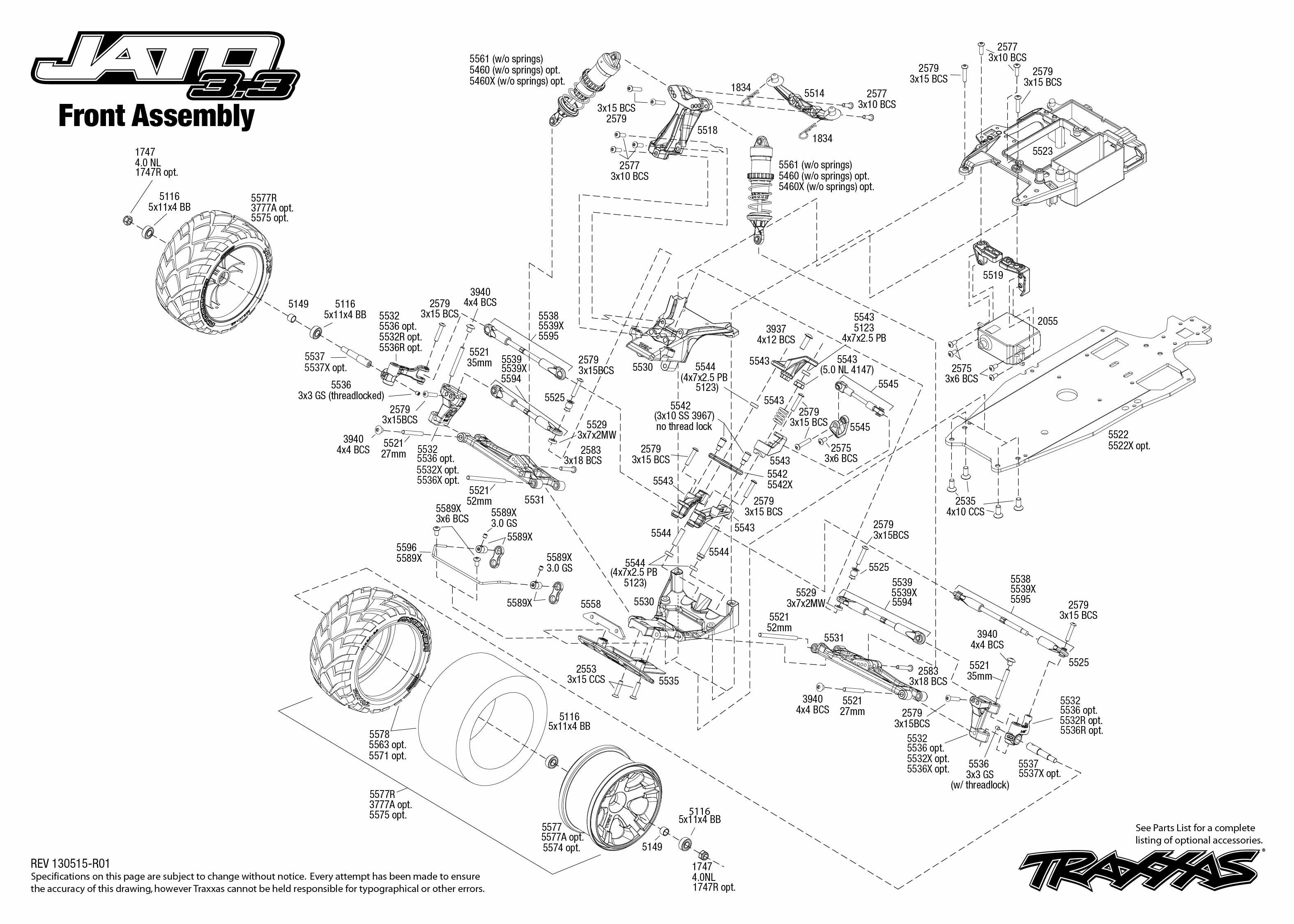 traxxas 3 3 engine diagram