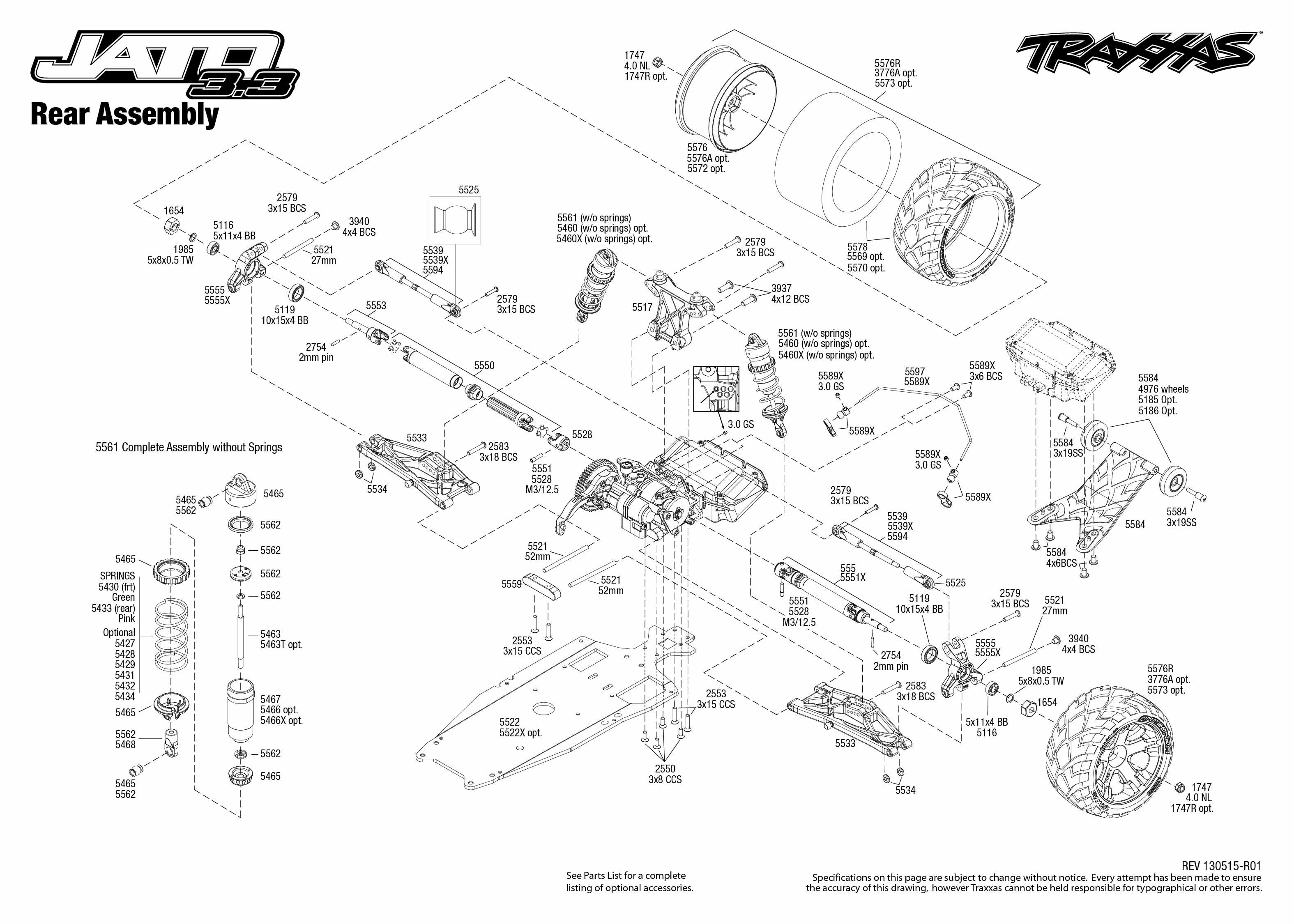jato parts diagram