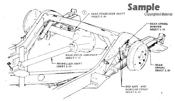 1959 Corvette Factory Assembly Instruction Manual - Restoration Book