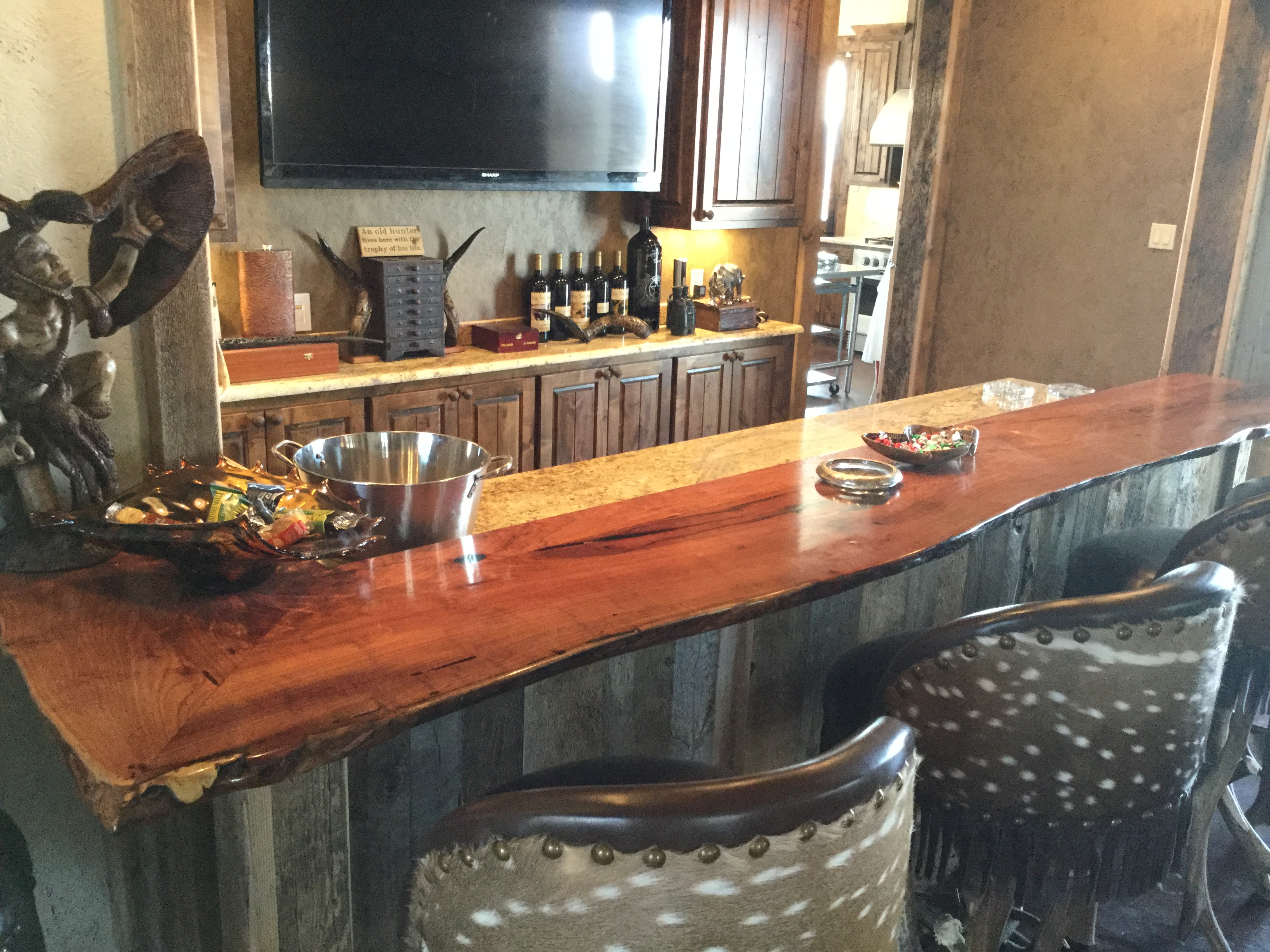 Custom Wood Bar Top Counter Tops Island Tops Butcher Block Island Wood Countertops Solid Wood Waterproof Island Top