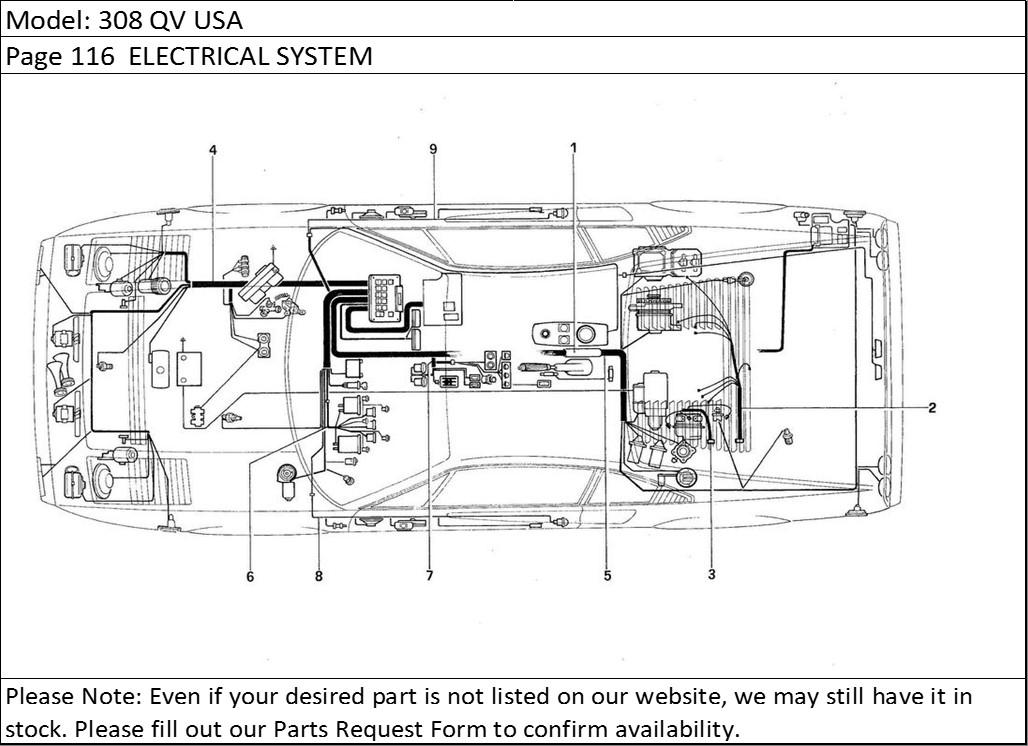 ferrari 328 gts wiring diagram