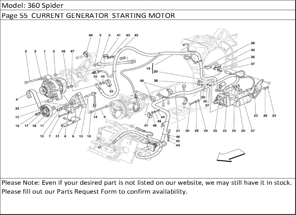 ferrari wiring diagram