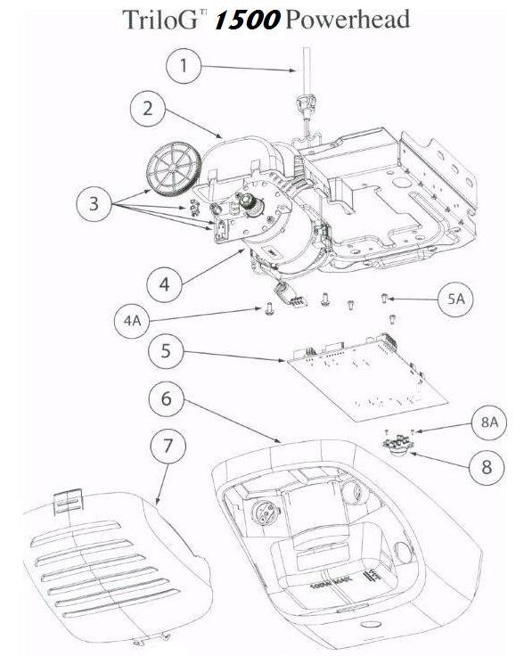 genie powermax 1500 wiring diagram