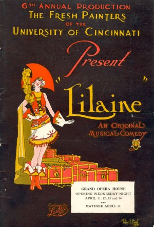 Lilaine Program Cover