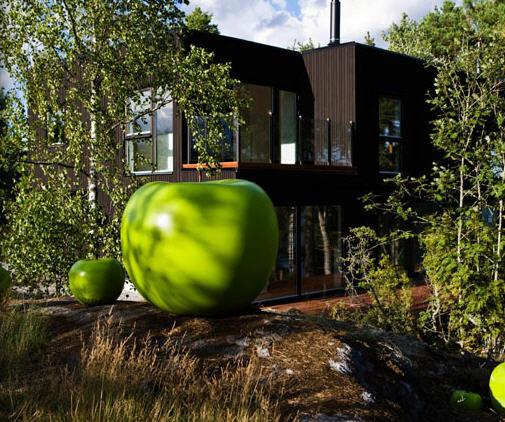 Investir dans un bien immobilier aka nexthouse la maison en bois libelul aka jane - Meuble design pas cher capital m6 ...