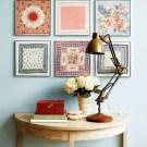 handkerchief-wall-art
