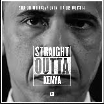 obama straight out of kenya