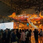 Creator of The Final Fantasy Series Reveals Life Sized Air Carrier in Japan