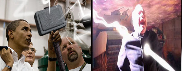 obama mjolnir to smite christians