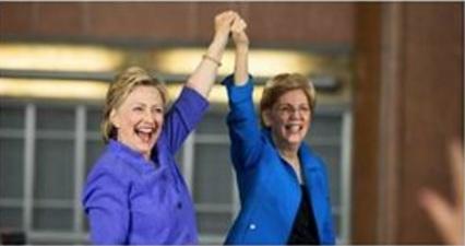hillary clinton elizabeth warren power lesbian white house copule president