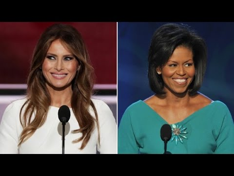Melania Trump Plagiarizes Michelle Obama's Speech