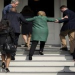 Hillary Clinton Visibly Weakened By Sunlight, More Proof She Is A Vampire