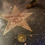 Hillary Clinton Destroys Donald Trump's Star At Hollywood Walk of Fame