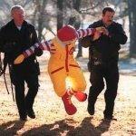 Virginia Liberals Order Police To Remove McDonald's Statue