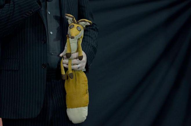 El Zorrito de juguete presente en el estreno de El principito.