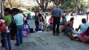 Entrega FIPO pliego de demandas a municipio de Oaxaca